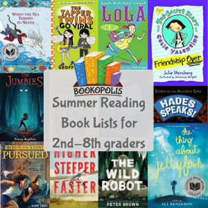 Summer Reading Book Lists (5)
