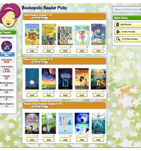 Bookopolis Find New Books Screenshot