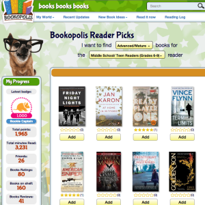 Bookopolis Reader Picks Advanced