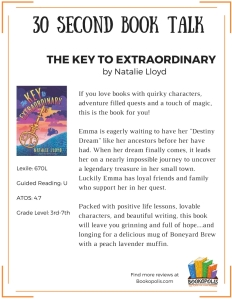 BOOK TALKS - The Key to Extraordinary